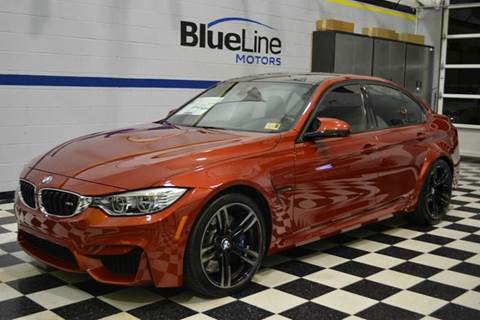 2017 BMW M3 for sale at Blue Line Motors in Winchester VA