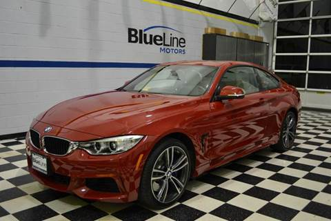 2016 BMW 4 Series for sale at Blue Line Motors in Winchester VA