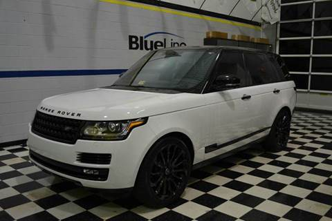 2015 Land Rover Range Rover for sale at Blue Line Motors in Winchester VA