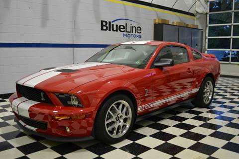 2009 Ford Shelby GT500 for sale at Blue Line Motors in Winchester VA