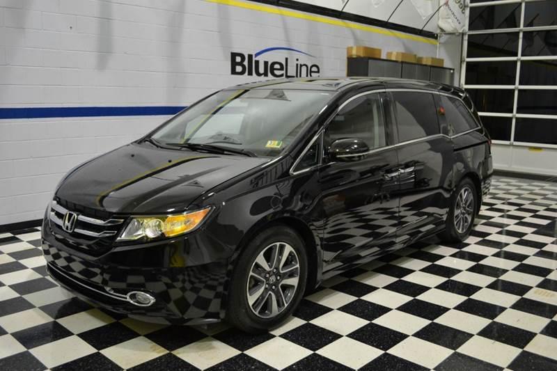 2016 Honda Odyssey for sale at Blue Line Motors in Winchester VA