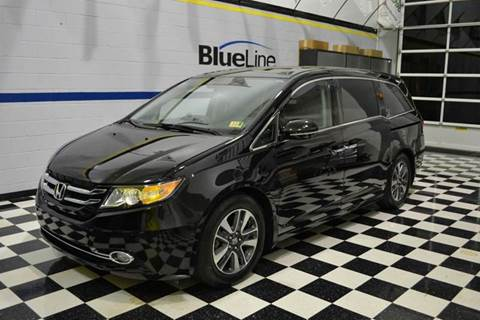 2016 Honda Odyssey for sale at Blue Line Motors in Winchester VA