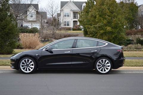 2018 Tesla Model 3 for sale at Blue Line Motors in Winchester VA