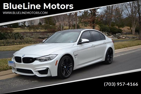 2016 BMW M3 for sale at Blue Line Motors in Winchester VA