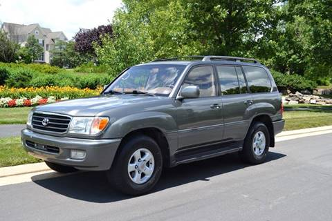 1999 Toyota Land Cruiser for sale at Blue Line Motors in Winchester VA