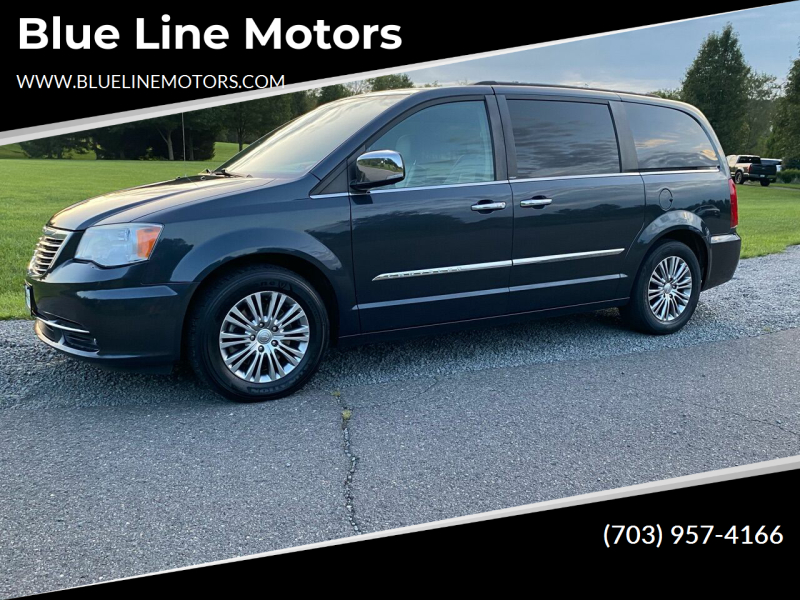 2014 Chrysler Town and Country for sale at Blue Line Motors in Winchester VA