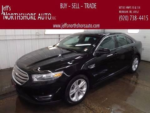 2014 Ford Taurus for sale at Jeffs Northshore Auto LLC in Menasha WI