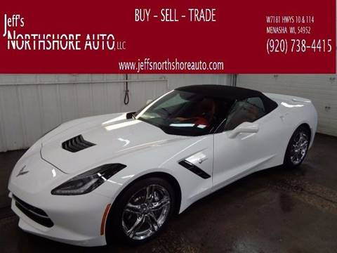 2016 Chevrolet Corvette for sale at Jeffs Northshore Auto LLC in Menasha WI
