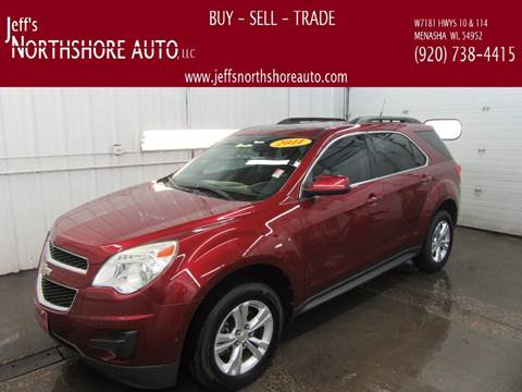 2011 Chevrolet Equinox for sale at Jeffs Northshore Auto LLC in Menasha WI