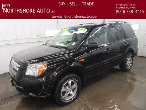 2008 Honda Pilot for sale at Jeffs Northshore Auto LLC in Menasha WI