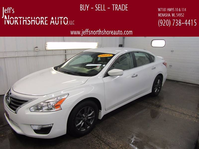 2015 Nissan Altima for sale at Jeffs Northshore Auto LLC in Menasha WI