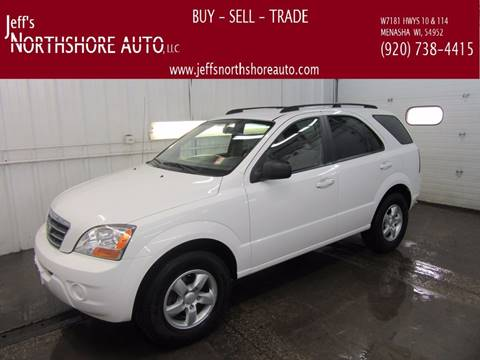 2008 Kia Sorento for sale at Jeffs Northshore Auto LLC in Menasha WI