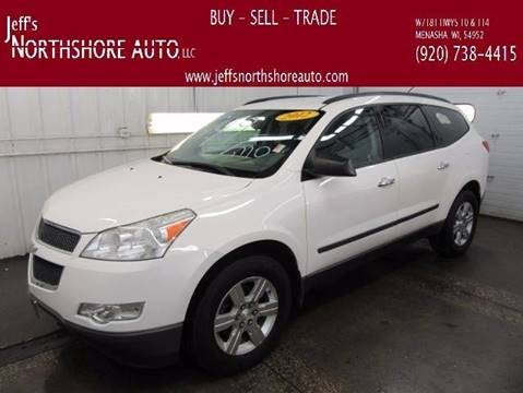 2012 Chevrolet Traverse for sale at Jeffs Northshore Auto LLC in Menasha WI