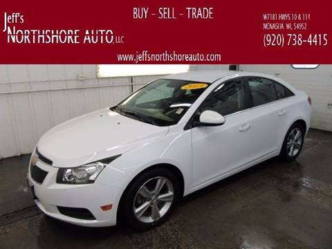 2013 Chevrolet Cruze for sale at Jeffs Northshore Auto LLC in Menasha WI