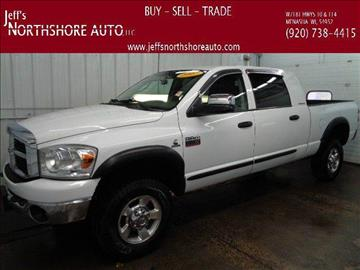 2007 Dodge Ram Pickup 2500 for sale at Jeffs Northshore Auto LLC in Menasha WI