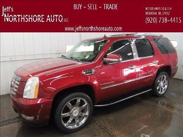 2007 Cadillac Escalade for sale at Jeffs Northshore Auto LLC in Menasha WI