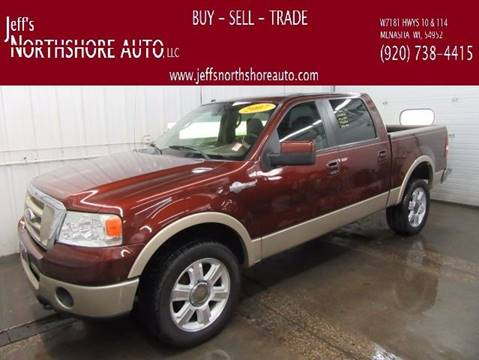2007 Ford F-150 for sale at Jeffs Northshore Auto LLC in Menasha WI