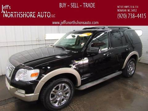 2010 Ford Explorer for sale at Jeffs Northshore Auto LLC in Menasha WI