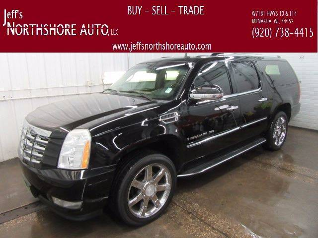 2007 Cadillac Escalade ESV for sale at Jeffs Northshore Auto LLC in Menasha WI
