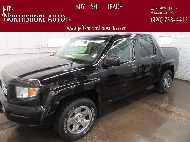2008 Honda Ridgeline for sale at Jeffs Northshore Auto LLC in Menasha WI