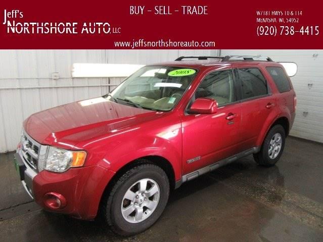 2008 Ford Escape for sale at Jeffs Northshore Auto LLC in Menasha WI
