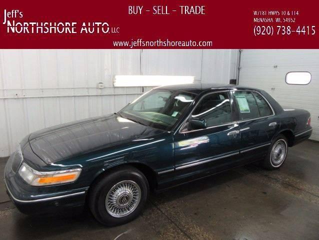 1997 Mercury Grand Marquis for sale at Jeffs Northshore Auto LLC in Menasha WI