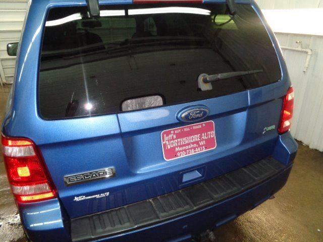 2010 Ford Escape for sale at Jeffs Northshore Auto LLC in Menasha WI
