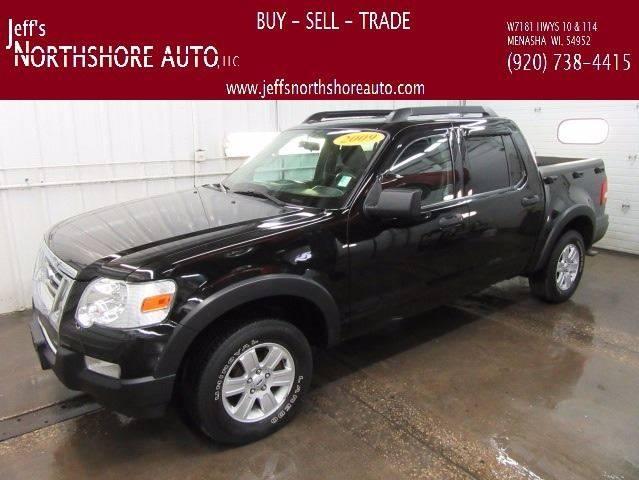 2009 Ford Explorer Sport Trac for sale at Jeffs Northshore Auto LLC in Menasha WI