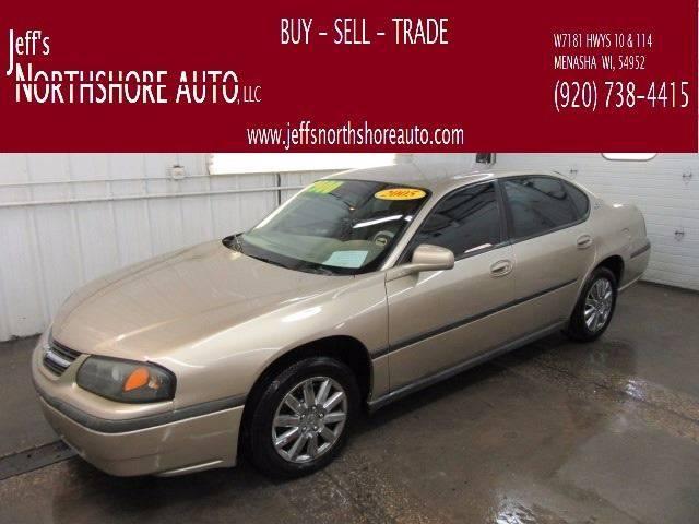2005 Chevrolet Impala for sale at Jeffs Northshore Auto LLC in Menasha WI