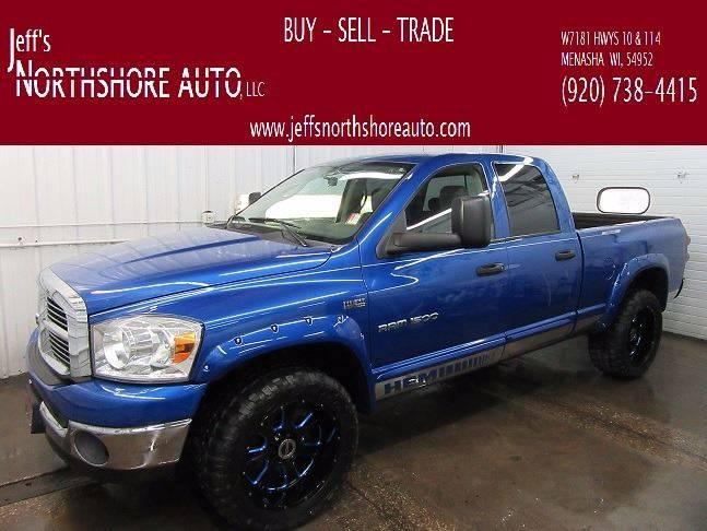2007 Dodge Ram Pickup 1500 for sale at Jeffs Northshore Auto LLC in Menasha WI