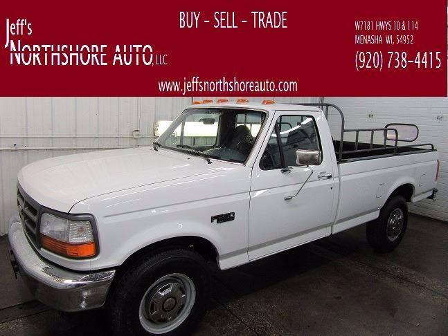 1996 Ford F-250 for sale at Jeffs Northshore Auto LLC in Menasha WI
