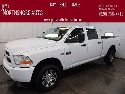 2012 RAM Ram Pickup 2500 for sale at Jeffs Northshore Auto LLC in Menasha WI