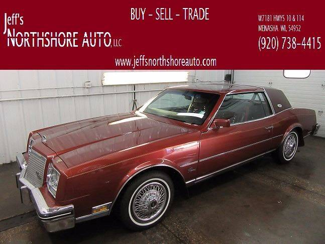 1982 Buick Riviera for sale at Jeffs Northshore Auto LLC in Menasha WI