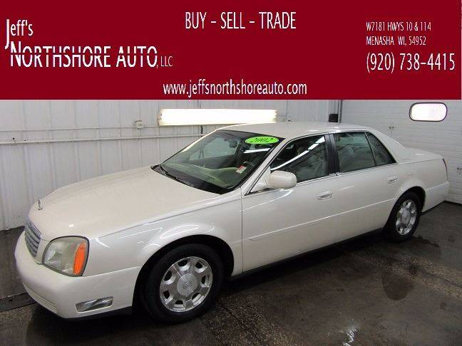 2002 Cadillac DeVille for sale at Jeffs Northshore Auto LLC in Menasha WI
