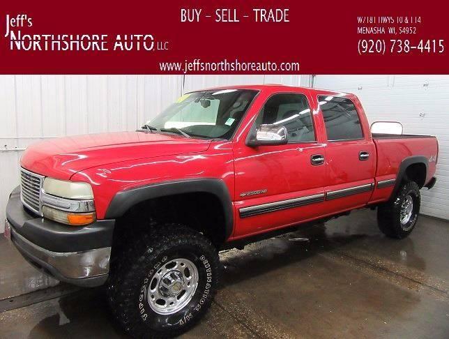 2001 Chevrolet Silverado 2500HD for sale at Jeffs Northshore Auto LLC in Menasha WI
