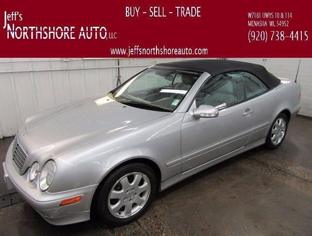 2002 Mercedes-Benz CLK for sale at Jeffs Northshore Auto LLC in Menasha WI