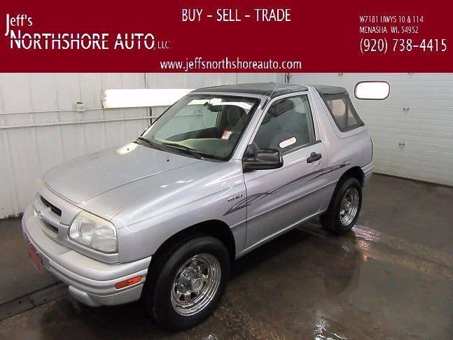 2000 Suzuki Vitara for sale at Jeffs Northshore Auto LLC in Menasha WI