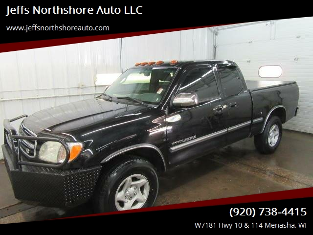 2002 Toyota Tundra For Sale At Jeffs Northshore Auto LLC In Menasha WI