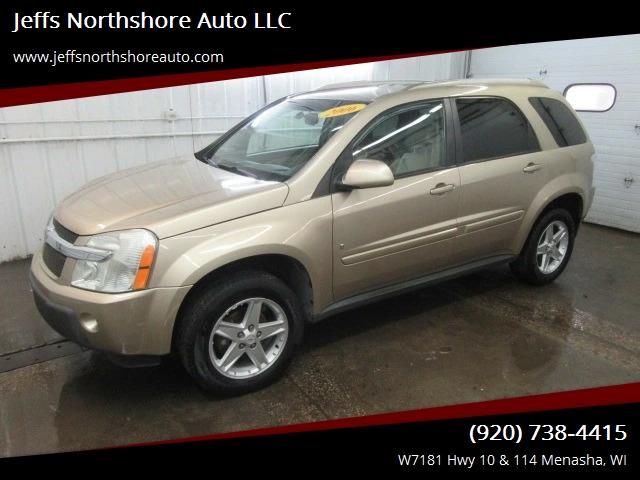 2006 Chevrolet Equinox For Sale At Jeffs Northshore Auto LLC In Menasha WI