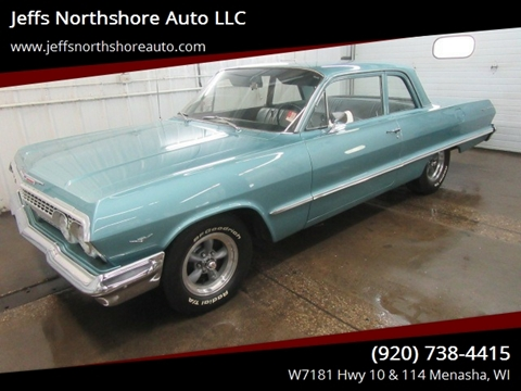 1963 Chevrolet Bel Air for sale in Menasha, WI