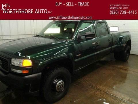 2001 GMC Sierra 3500 for sale at Jeffs Northshore Auto LLC in Menasha WI