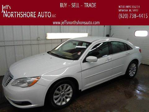 2013 Chrysler 200 for sale at Jeffs Northshore Auto LLC in Menasha WI
