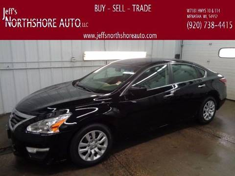 2013 Nissan Altima for sale at Jeffs Northshore Auto LLC in Menasha WI