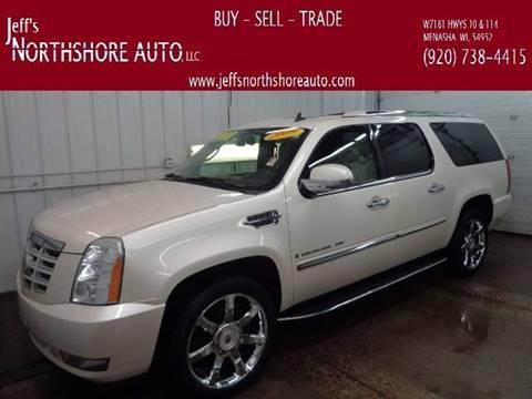 2009 Cadillac Escalade ESV for sale at Jeffs Northshore Auto LLC in Menasha WI
