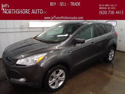 2013 Ford Escape for sale at Jeffs Northshore Auto LLC in Menasha WI