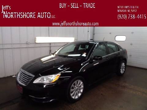 2012 Chrysler 200 for sale at Jeffs Northshore Auto LLC in Menasha WI