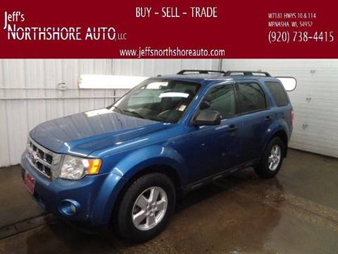 2010 Ford Escape for sale at Jeffs Northshore Auto LLC in Menasha WI