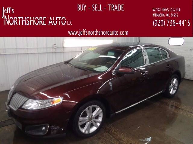 2009 Lincoln MKS for sale at Jeffs Northshore Auto LLC in Menasha WI
