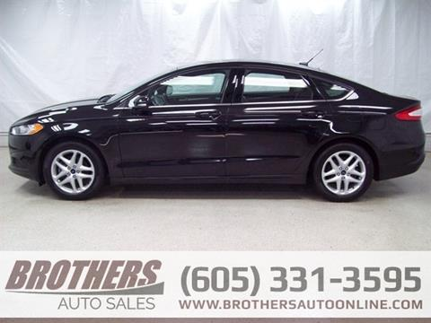 2014 Ford Fusion for sale in Sioux Falls, SD
