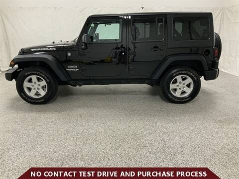 2016 Jeep Wrangler Unlimited for sale at Brothers Auto Sales in Sioux Falls SD